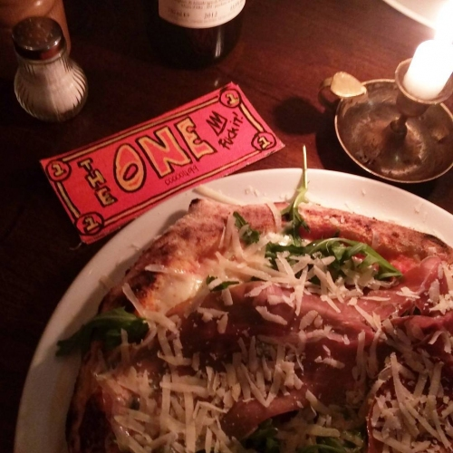 TheONE & pizza