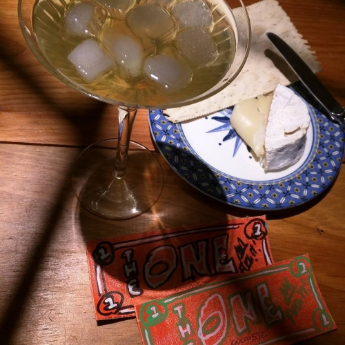 TheONE with a Martini