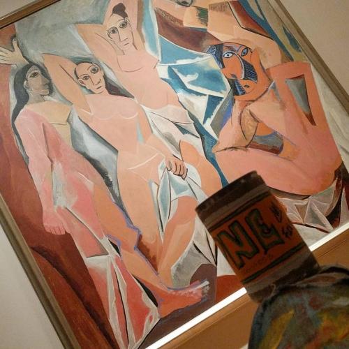 TheONE avec Les Demoiselles d'Avignon