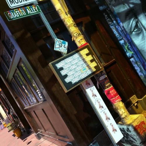 TheONE @Graffiti Alley