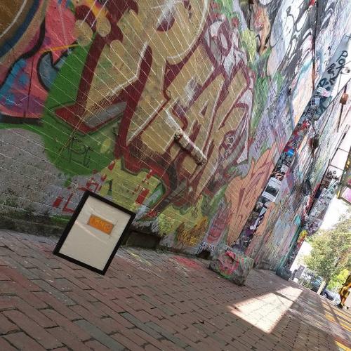 TheONE @Graffiti Alley, Cambridge