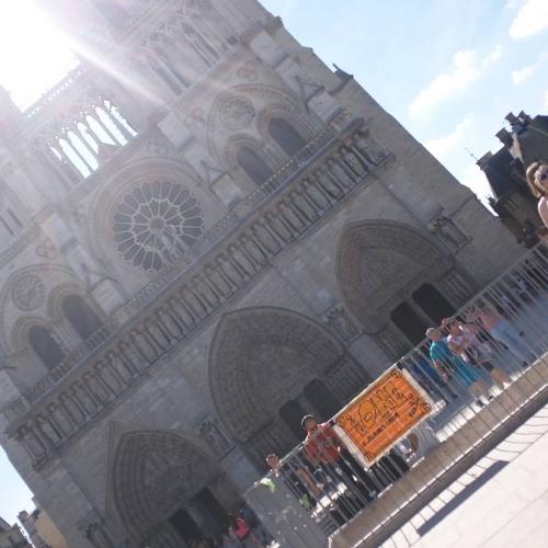 TheONE @Notre-Dame de Paris